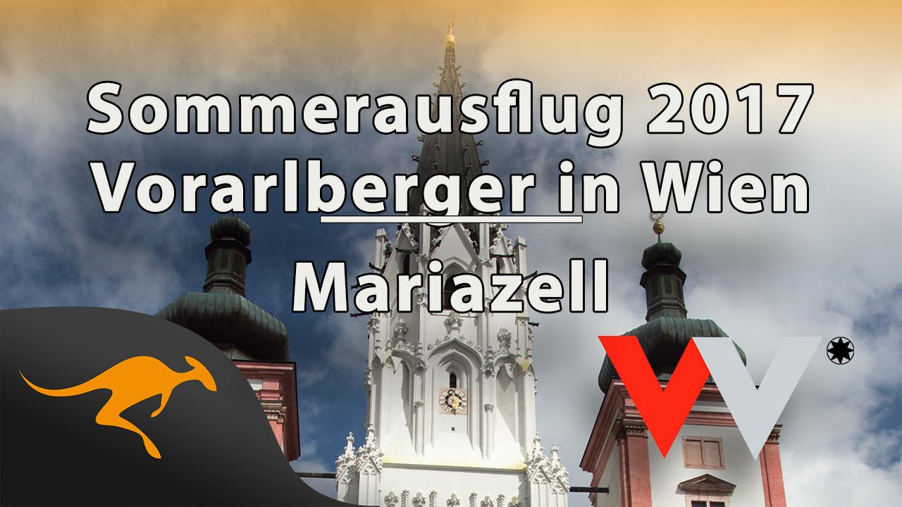 """Sommerausflug der """"Vorarlberger in Wien"""" 2017 nach Mariazell"""